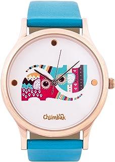 Chumbak Analog White Dial Women's Watch-8904218048682
