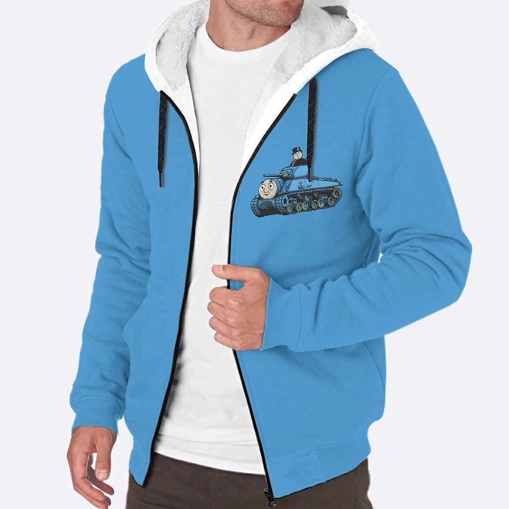 O5KFD&8 Sweat-Shirt en Non-tissé à Manches Longues avec Fermeture Éclair Motif Boyfriend Bleu Riding Blanc