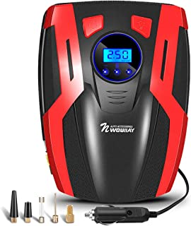 NWOUIIAY Compresor de Aire Coche Eléctrico Bombas para Coche 150PSI 35L/MIN Portátil para inflar Neumáticos de Coche Moto y Bicicleta