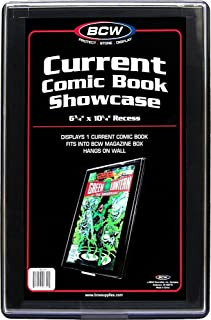 CURRENT AGE Comic Book Showcase Display Case NEW 6 3/4