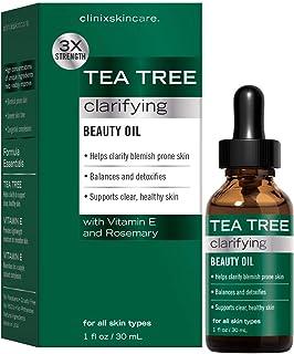 Clinix Skincare Tea Tree Clarifying Beauty Oil, 1 Fl. Oz