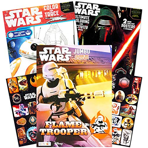 Top star wars coloring books for kids ages 4-8 for 2020