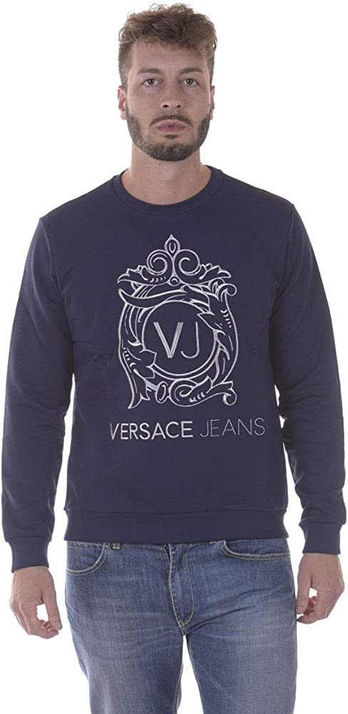 Versace jeans felpa uomo EB7GPA7F0_E36604