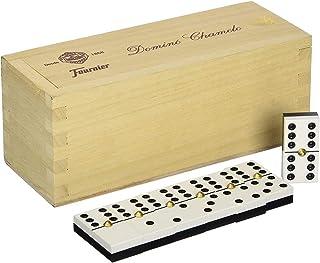 comprar comparacion Fournier- Domino CHAMELO CELULOIDE Caja Madera, Color marrón (F06573)