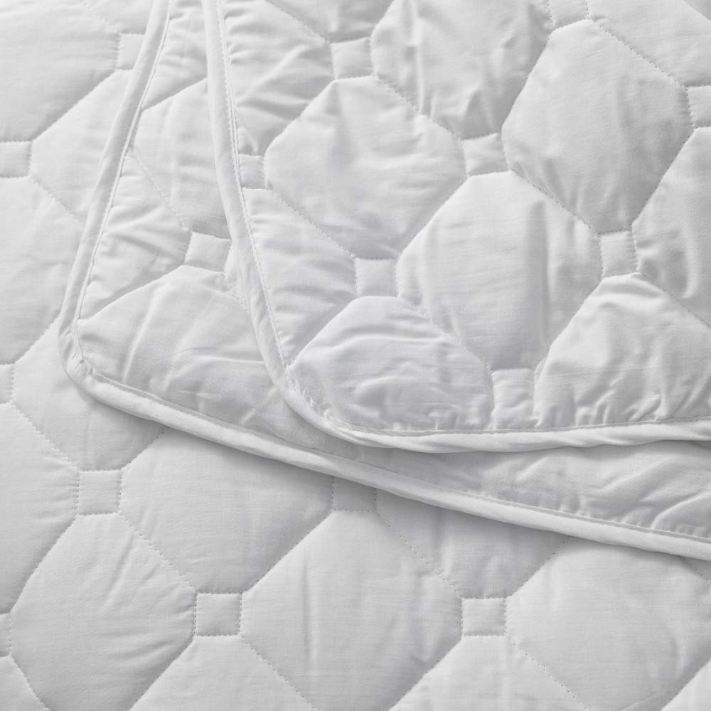 UK Standard Single W137 x L200 centimetres Woolroom Natural Hypoallergenic Temperature Regulating British Wool Duvet with Cotton Outer Classic Warm Weight 11-14 tog approx