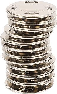 HEALLILY 12 Pares Magnetic Botão Snaps Magnéticos Botão de Metal Fechos Fastener para Bolsas Bolsa de Tricô Roupas DIY Cos...