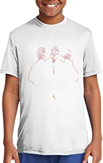 Casual T Shirt Bee Gees Man Short Sleeve T-Shirts Quick Dry,Comfortable Black