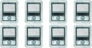 Set of 8, Buyers Products L3885RLS-x8 Stainless Steel Rotary Paddle Latch and Gasket for Tool Box Door, Truck Body, Utility Body