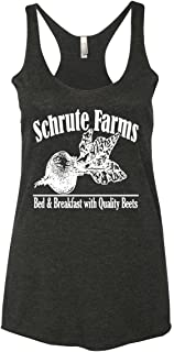 Wild Bobby The Office Inspired Tops for Fans | Beets Paper Farms | Womens Tri-Blend Racerback Tank Top