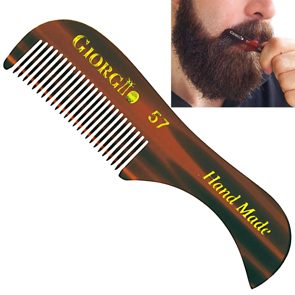 Giorgio G57 Extra Small 2.75 Inch Max 41% OFF Toothed Men's service Fine M and Beard