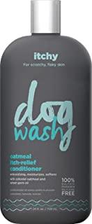 Dog Wash FGI06940 1 Synergylabs Oatmeal Itch-Relief Conditioner for Dogs – Moisturizing Dog Conditioner Detangles & Soothe...