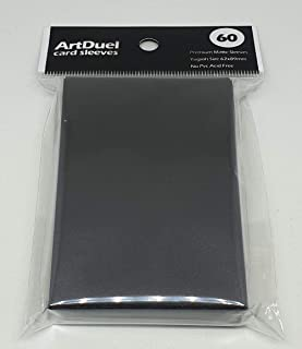 Yugioh Card Sleeves - Matte Black - 60ct