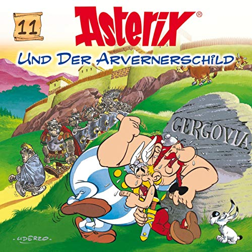Asterix und der Arvernerschild Titelbild