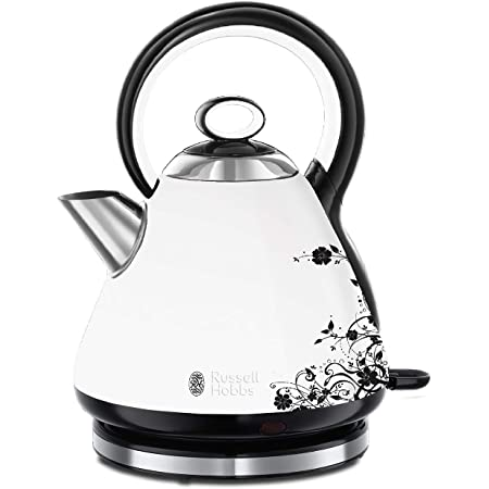 Russell Hobbs Bouilloire 1,7L 2400W, Ebullition Rapide - 21963-70 Legacy Florale
