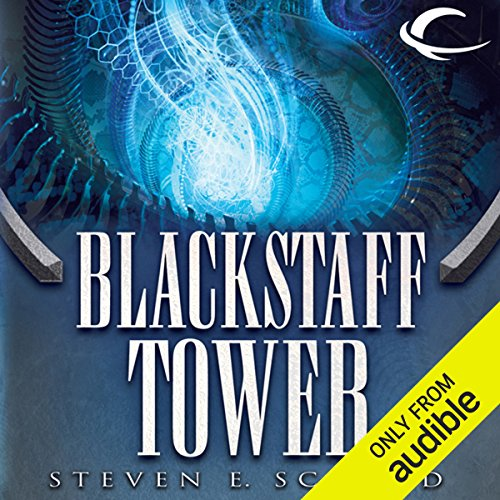 Blackstaff Tower audiobook cover art