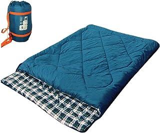 通販のトココ 寝袋 シュラフ スリーピングバッグ 封筒型寝袋 分離可能 最低使用温度-5度 快適 ポリエステル 収納袋付き キャンプ 防災 [並行輸入品]