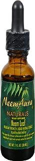 Neem Organic Leaf Extract - Regular Strength Neem Aura 1 oz Liquid