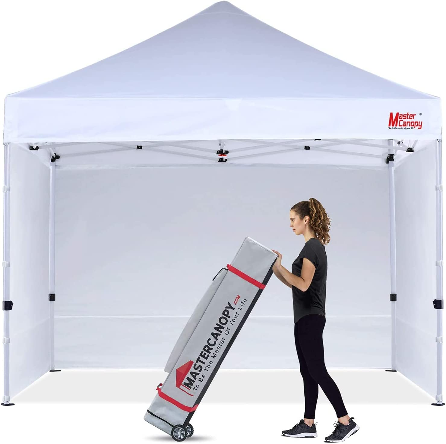 Max 70% OFF MASTERCANOPY Durable Max 78% OFF Pop-up Canopy Tent Heavy Instant Duty 10x10