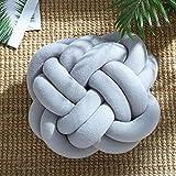 Kreative weiche Knoten Kissen, verknotete Ball Kissen Home Sofa Büro Dekor Kissen, Baby Schlaf...