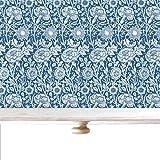 The Master Herbalist Lavender SCENTED Drawer Liners, William Morris Design (Blue/Lavender)