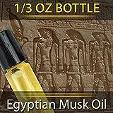 Pure Egyptian Musk Oil (Civet Blend) Imported From Egypt 1/3oz....