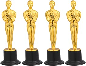 Amosfun Gold Award Trofeeën Oscar Award Statues Beloning Prijzen voor Partij Ceremonie Waardering Gift 4 stks