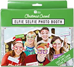 Photo Booth Props 31 Christmas Photo Props Log Cabin Christmas Backdrops for Photography & Selfies