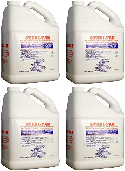 Steri Fab Bed Bug Insecticide 4 Gals Dust Mite Bed Bugs Killer Mattress Spray