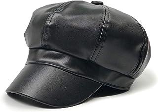 super populaire b1a43 cabb7 Amazon.fr : casquette cuir - Livraison gratuite