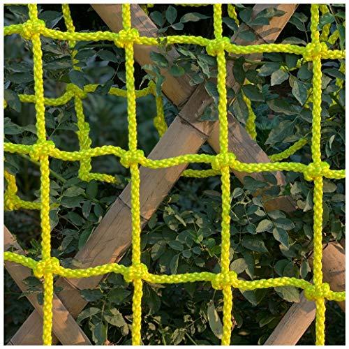 Seilnetz,Baumhausschutznetz Erwachsene Kind Fitness Schaukel Leiter Klettern Rennbahn Zaun Netz Outdoor-Spielplatz Hochleistungssicherheitsklettern für Kinder Auto LKW Deck Ladung Festes Nylonnetz