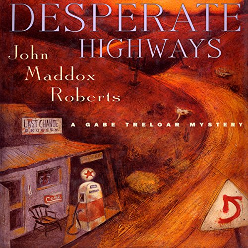 Desperate Highways audiobook cover art