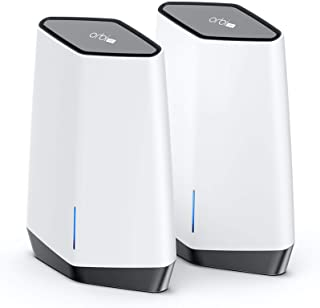 NETGEAR Orbi Pro WiFi 6 Tri-band Mesh System (SXK80) | Router with 1 Satellite Extender for Business or Home | Coverage up...
