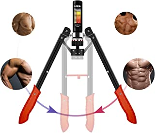 Twister Arm Exerciser, Exercise Equipment Chest , Adjustable Hydraulic Twister 22-440lbs, Home Exercise Equipment Chest Twister Bar Adjustable 1-25 Levels for Men and Women Home Fitness Equipment