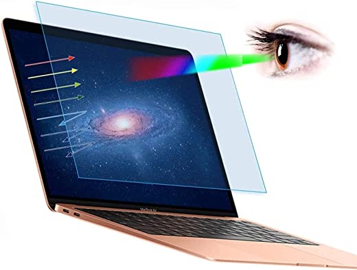 Midkart Anti-Blue Light Screen Guard Compatible with MacBook Air 13 Inch with Touch ID (Model M1 A2337 / A2179 / A1932 – Release 2020 2019 2018)…