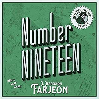 Number Nineteen: Ben's Last Case audiobook cover art