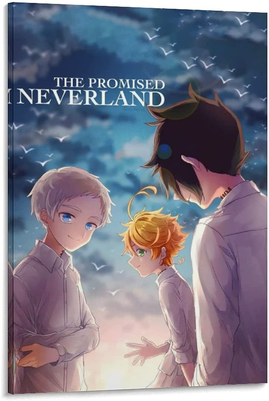 Excellence Max 75% OFF RAMIHXA Anime TPN The Promised Neverland Poster Ray Norman Emma