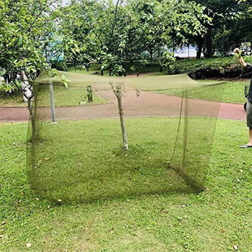 JIAMIN Tienda de campaña y parasol 200x90x180cm al aire libre de la tienda de campaña parasol mosquitera mosquitera de insectos cubierta de red