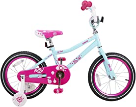 JOYSTAR Kids Bike for 2-6 Year Old Girls, 12 14 16 Inch Girls Bike with Training Wheels, Easy Assembly Kids Bicycle