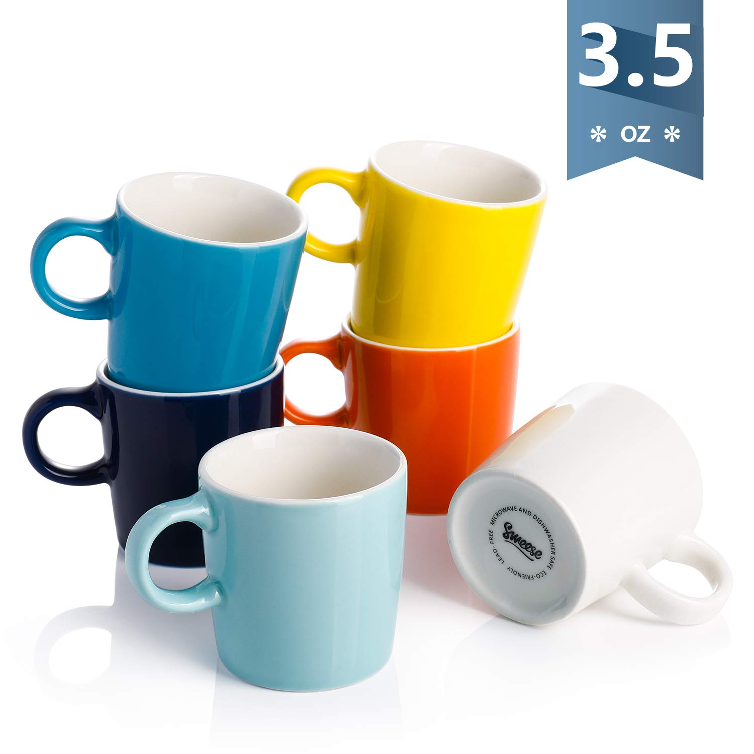 Sweese 409 002 Porcelain Espresso Cups