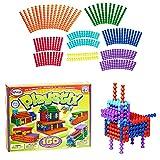 Playstix Construction Toy Building Blocks Set 150 Piece STEM Kit