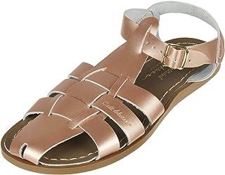 b0aa069dfe98e Salt Water Sandals - Shark Original Rose Gold - Leather Sandals