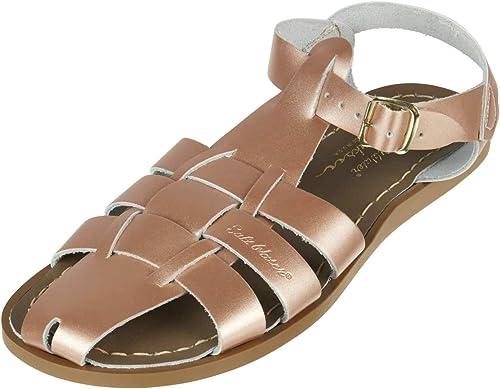 Salt Water Sandals , Sandales pour Femme Beige Rose or