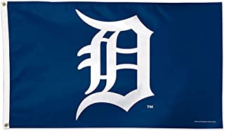WinCraft MLB Detroit Tigers 01775115 Deluxe Flag, 3' x 5'