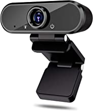 HD Webcam with Microphone,1080p Web Camera for Video Calling Conferencing Recording, PC Laptop Desktop USB Webcams