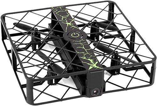 NuoEn HD720P UAV Drone Mini Quadricoptère pour Enfants Et Débutant GPS Drone Moteur Brushless Jouet Noir ou Rouge 13.5  13.5  3cm ( Couleur   Noir )