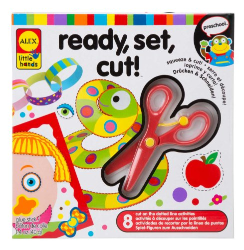 Alex Discover Ready, Set, Cut Kids Art and Craft Activity