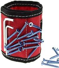 Imanes pulsera herramienta de trabajo para sujetar tornillos, tijeras, clavos, material transpirable para pequeñas herrami...
