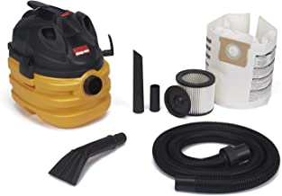 Shop-Vac 5872800 5 gallon 6.0 Peak HP Portable Heavy Duty Wet & Dry Vacuum, Yellow/Black