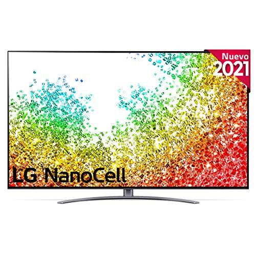 LG NanoCell 75NANO96-ALEXA 2021-Smart TV 8K UHD 189 cm (75 ) con Inteligencia Artificial, Procesador Inteligente α9 Gen4, Deep Learning, 100% HDR, Dolby ATMOS, HDMI 2.1, USB 2.0, Bluetooth 5.0, WiFi