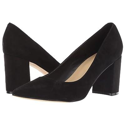 Marc Fisher Claire (Black Savoy Suede) High Heels